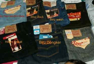 Contoh Warna Celana Jeans Levi's 505